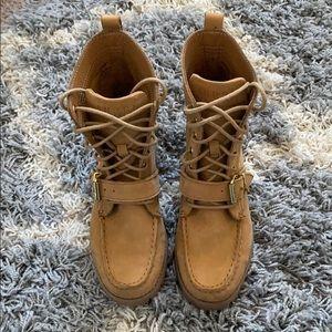 Ralph Lauren Combat Boots